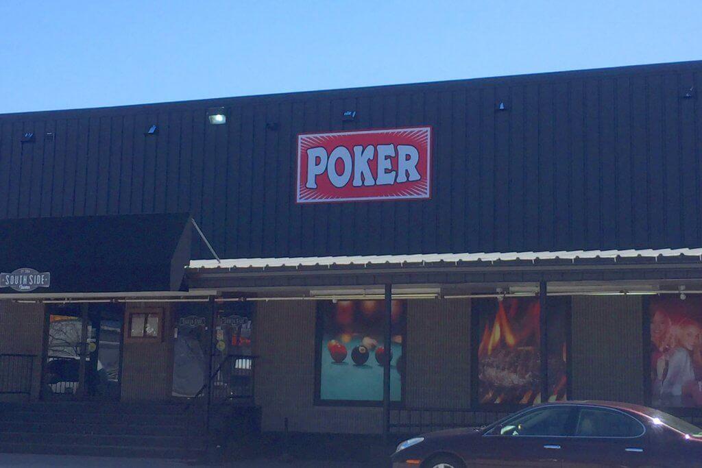 Manchester Poker Room Outside