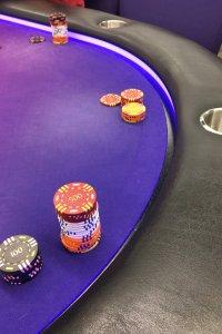 Manchester Poker Room Table
