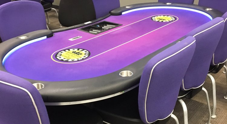 Manchester Poker Room Table 2