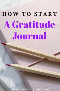 Start a Gratitude Journal