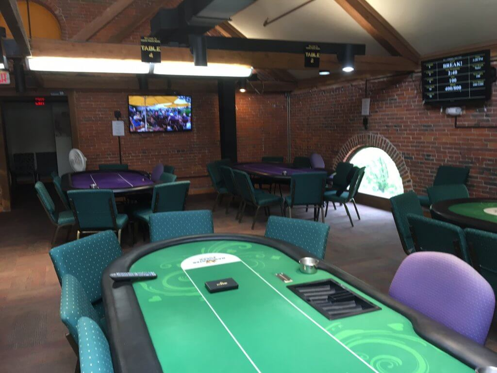 Keene Casino Poker Room Interior