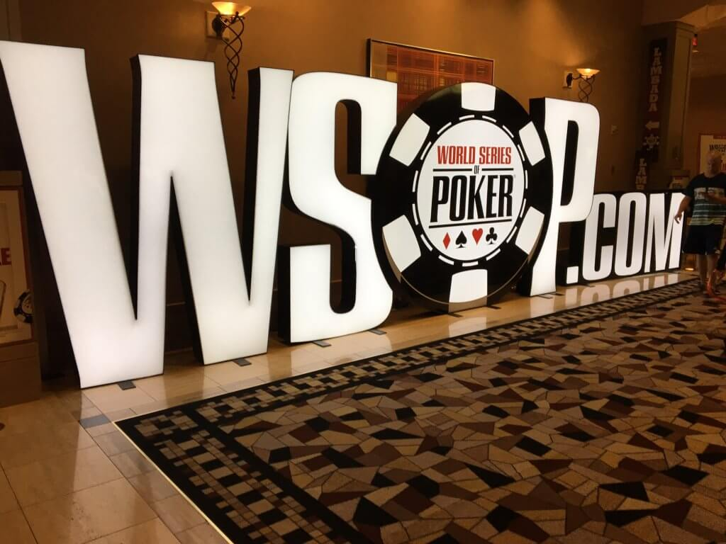 WSOP Sign