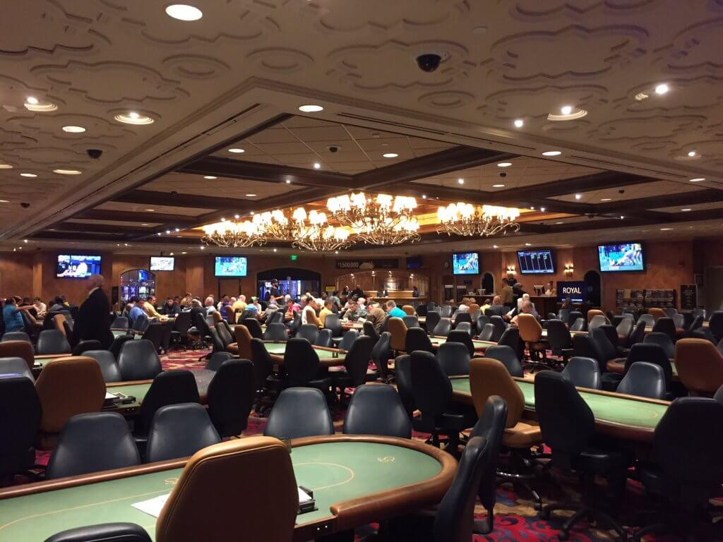 Turning Stone Poker Room