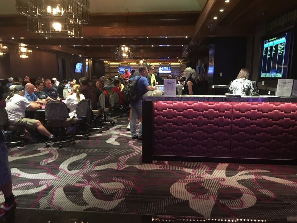 Mirage Poker Room Inside