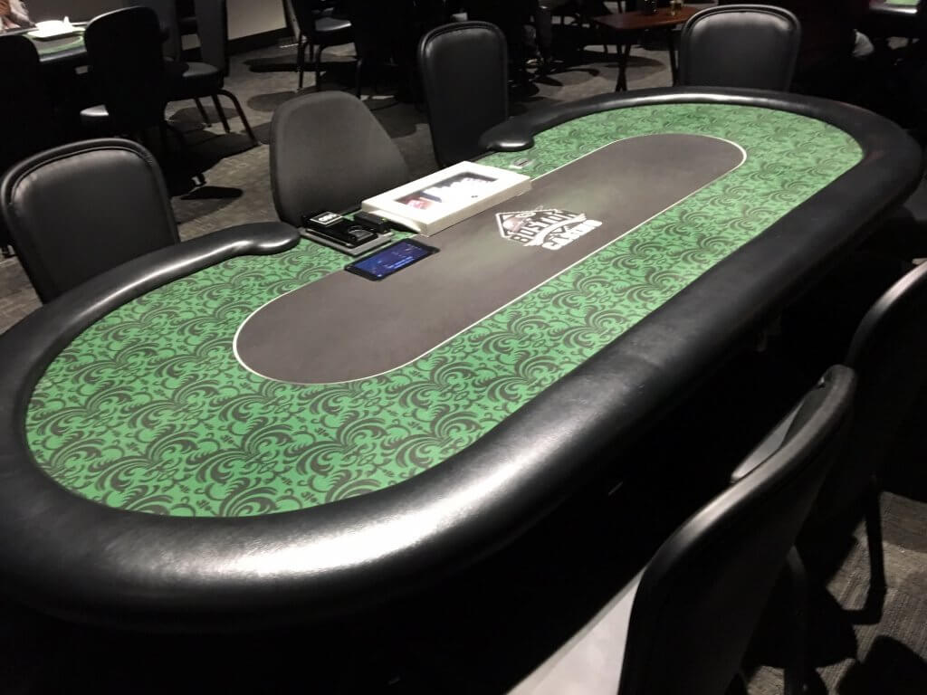 Boston Billiard Poker Room Table
