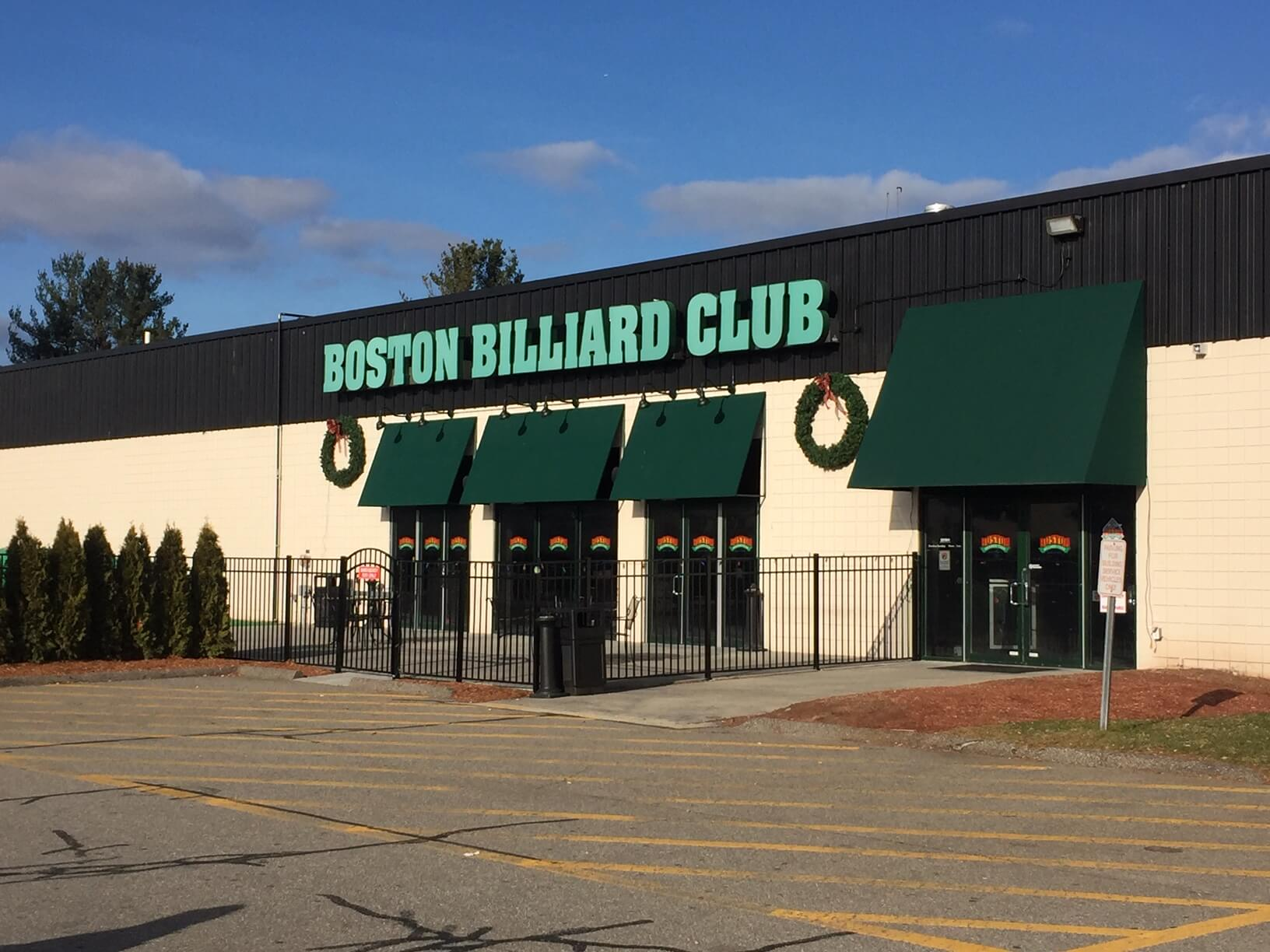 Boston Billiard Poker Room Entrance