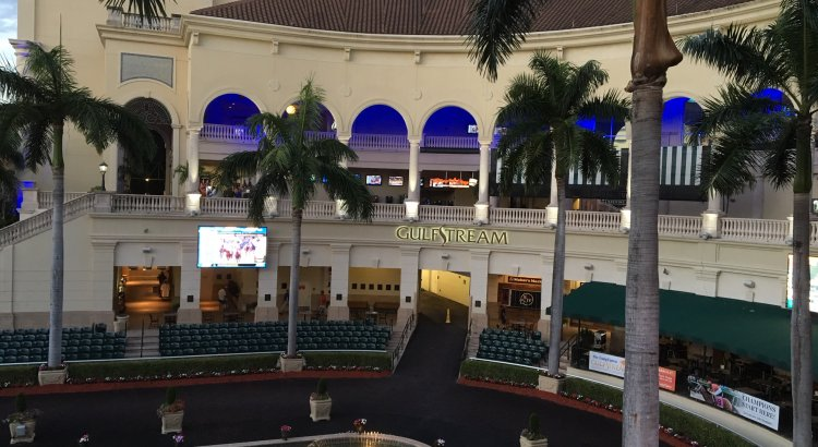 Gulfstream Park Poker Room Building