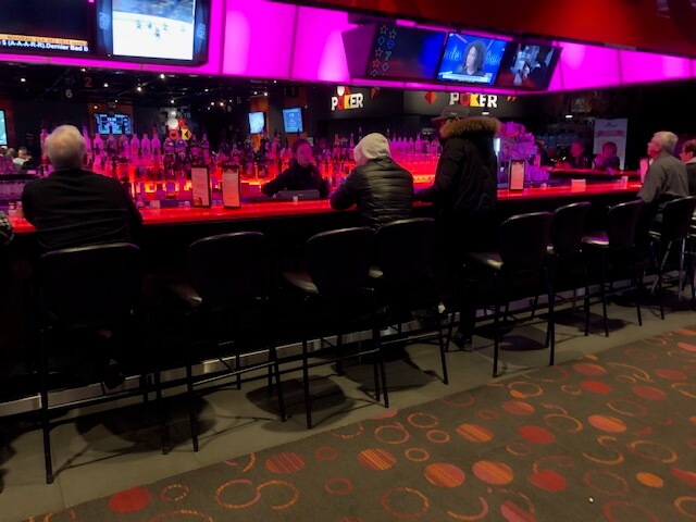 Bar at Casino de Montreal Poker Room