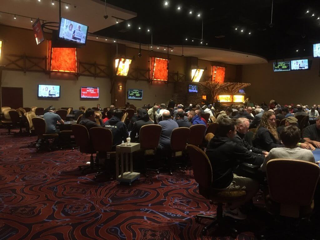 Mohegan Sun New Poker Room