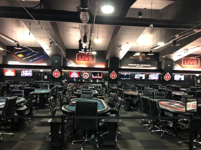 Playground Poker Tournament Room
